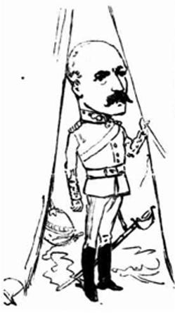 Major H J King 1888