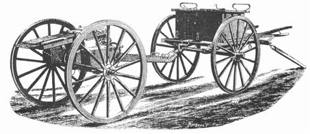 A Nordenfelt gun and limber